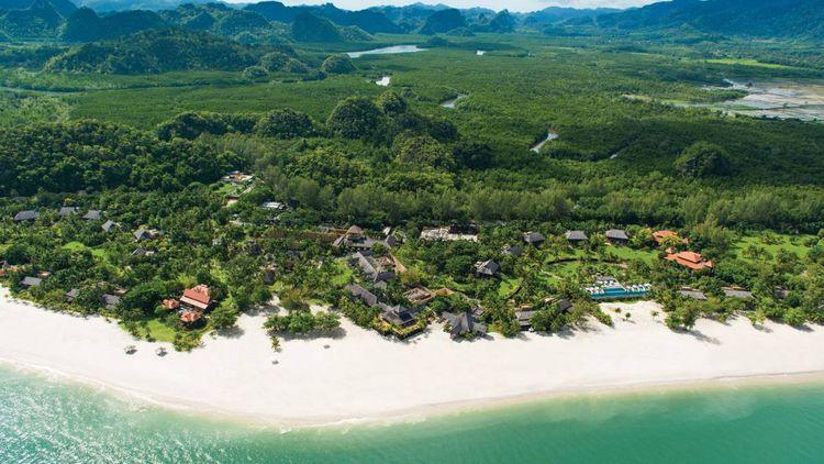 Four Seasons Langkawi - Aerial View