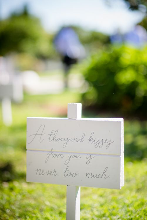 Song Lyric Wedding Sign | Outdoor Ibiza Destination Wedding | Gypsy Westwood Photography | Infin8 Film