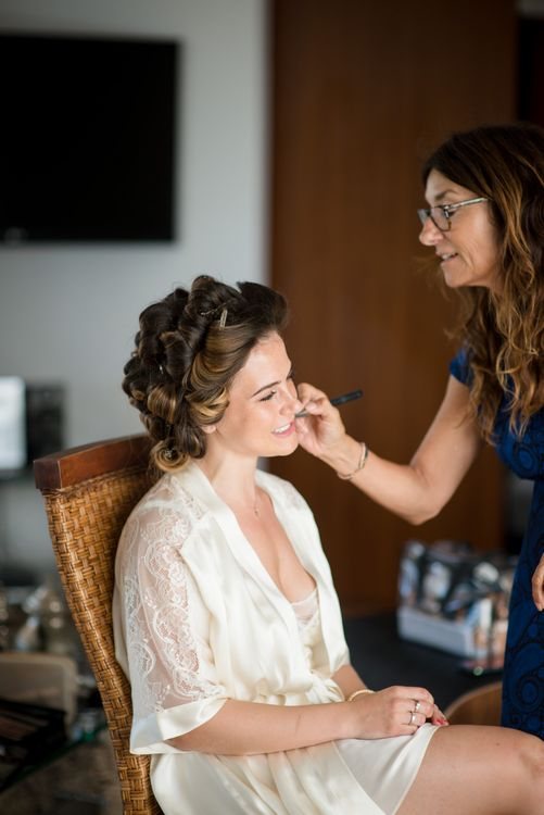 Bridal Preparations | Wedding Morning | Outdoor Ibiza Destination Wedding | Gypsy Westwood Photography | Infin8 Film