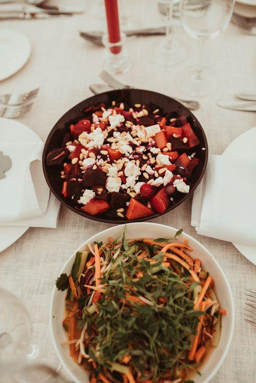 Sharing Plates Wedding Food