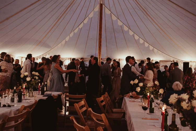 At Home Marquee Wedding
