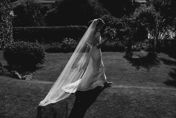 Bride in Louise Selby Gown