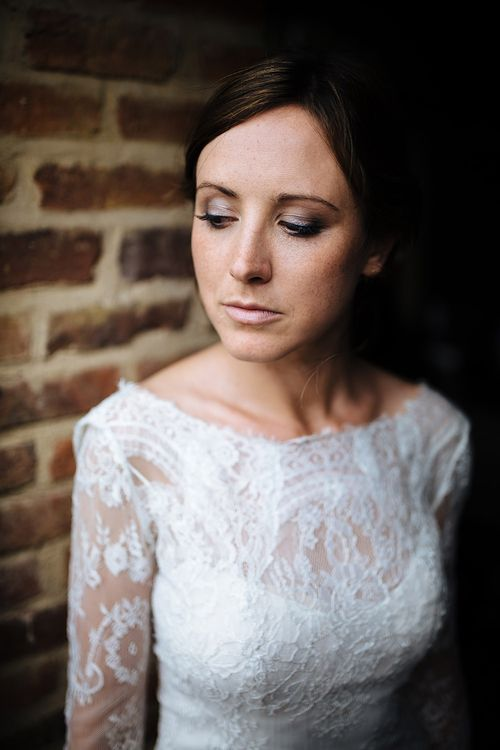 Bride in Lace Sottero & Midgley Gown | Tawny Photo