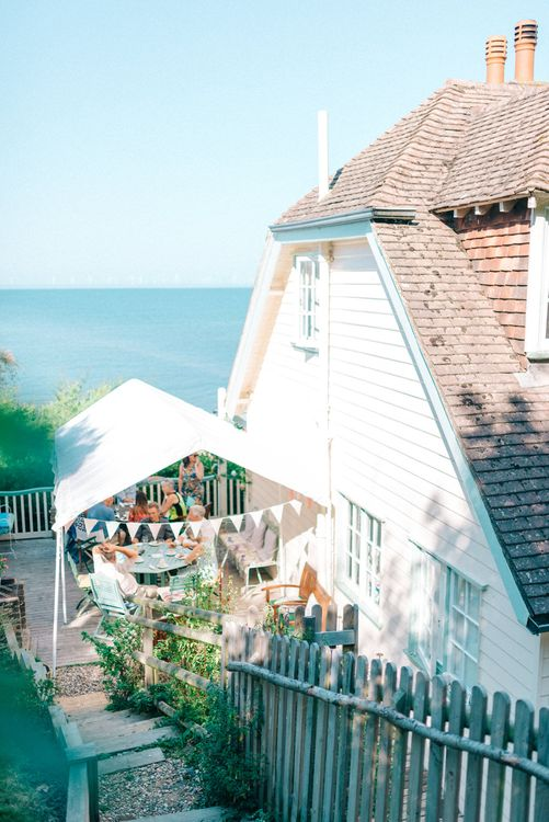 Beach Hut Wedding