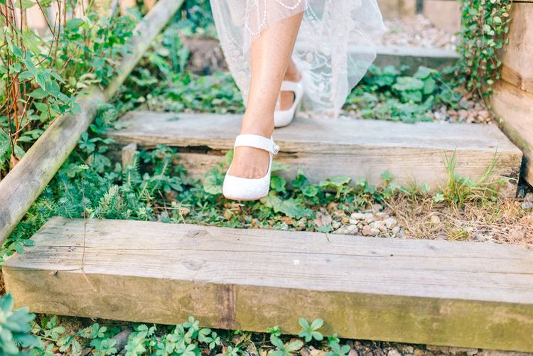 Rainbow Club Lace Mary-Jane Shoes from John Lewis