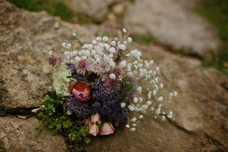 Bridesmaids Bouquet With Local Flowers