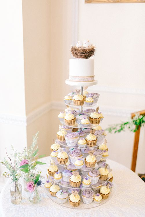 Cupcake Wedding Cake Tower