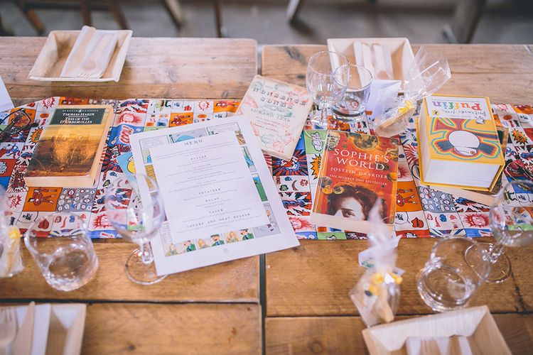 Comic Book Themed Wedding At Swan Wharf Hackney London