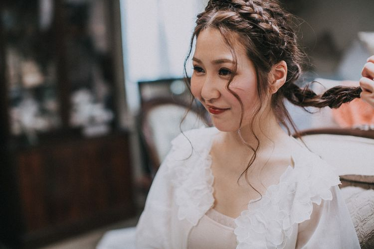Bride Getting Ready For Wedding | Images By Matt Horan Photography