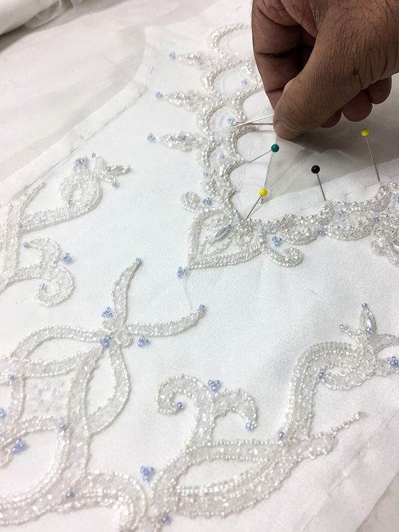 Having A Bespoke Wedding Dress Made In India - The Process