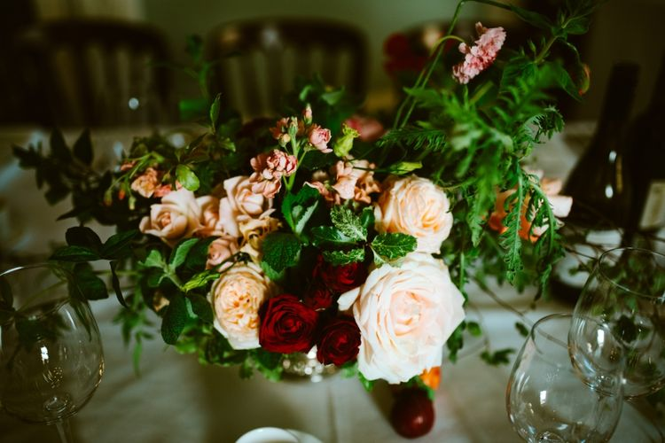 Opulent Flowers For A Castle Wedding In Scotland