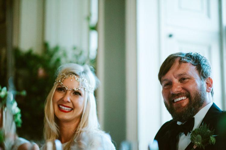Wedding Speeches Scottish Castle Wedding