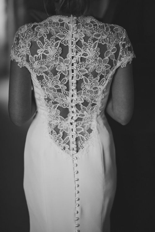 Lace Back Sassi Holford Bridal Gown