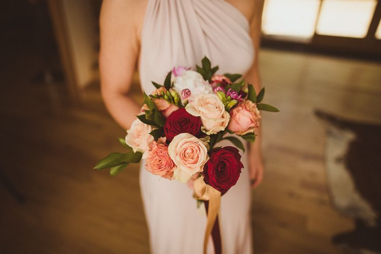 Rich Red and Pink Bouquet