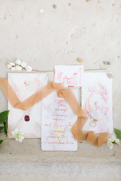 Poeticalligraphy Wedding Stationery | Cristina Firotto Event Design | Valentina Oprandi Photography