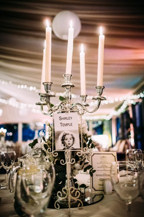 Silver Candelabra Table Centrepiece