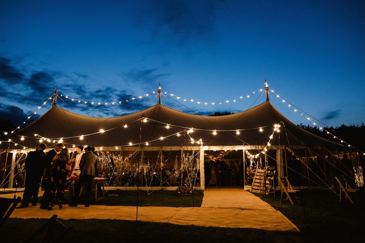 Colourful Outdoor Ceremony and Marquee Reception at Braisty Estate in North Yorkshire | The Lou's Photography