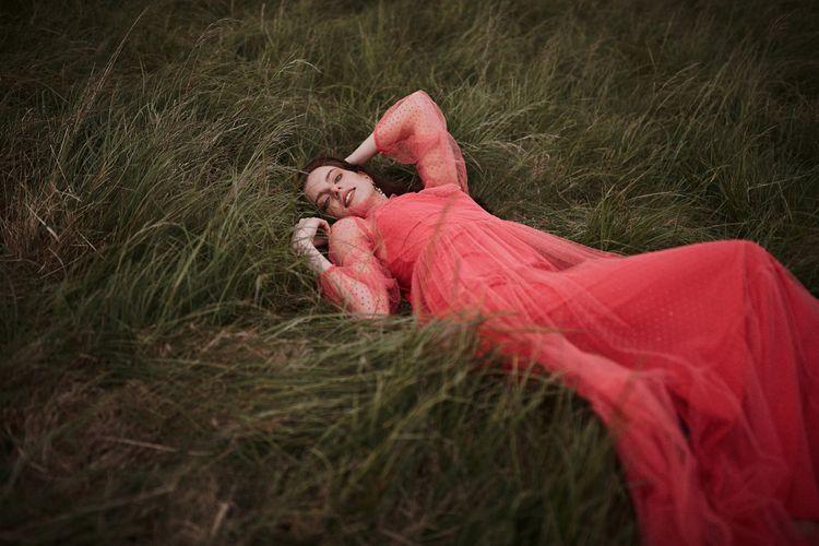 Red Polka Dot Bridesmaids Dress By Katya Katya