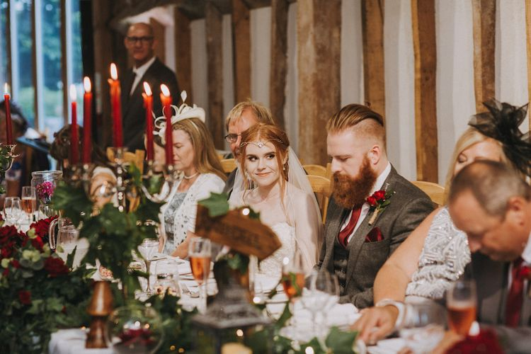 Fantasy Wedding At Southend Barns Inspired By Lord Of The Rings // Image By Nicki Feltham Photography