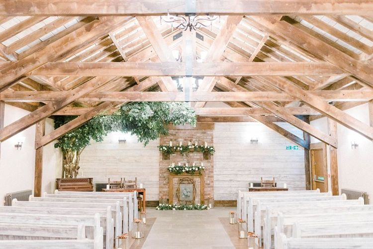 Ceremony Room at The Old Barn at the South Causey Inn