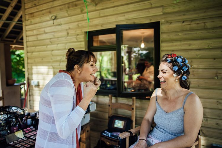 Bridal Preparations | DIY Rustic Wedding in a Sheep Shed | Suzanne Neville Bridal Gown | Donegal Tweed Suits | Bridesmaids inPurple  JLM Couture Special Occasions Dresses | Matt Willis Photography