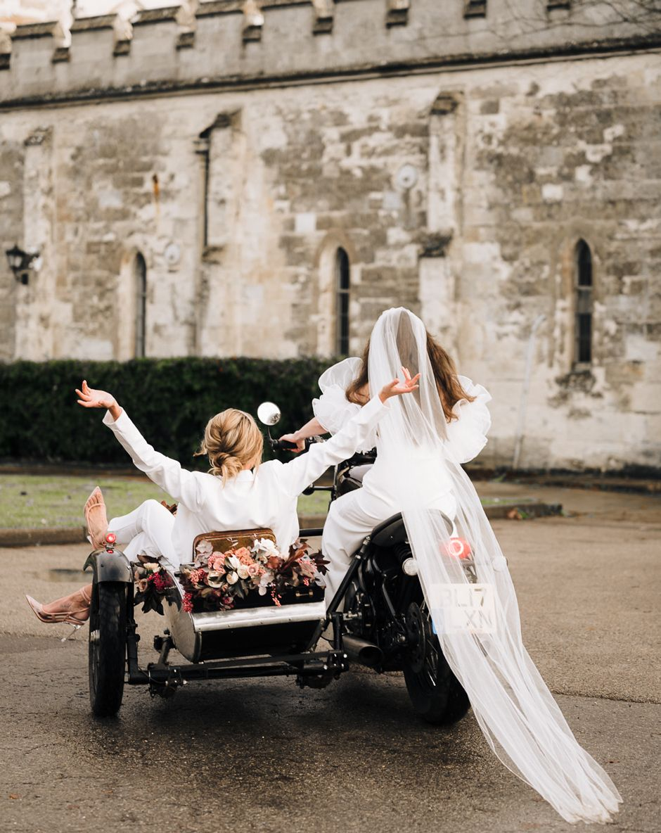 Wedding Sidecar 2