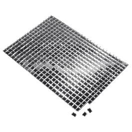 Tükörmozaik, nem kell fugázni, ezüst, 5x5 mm, 600 db