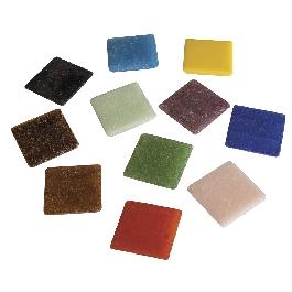 Mozaik, 2 cm, vegyes, vödör kb. 325 db/1 kg