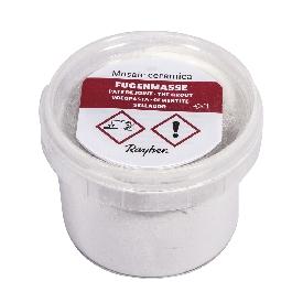 Fugázóanyag Ceramica-mozaikhoz, fehér, 125 g