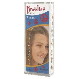 Braidy hajdísz béke, 33 db-os készlet, hossz kb. 25 cm