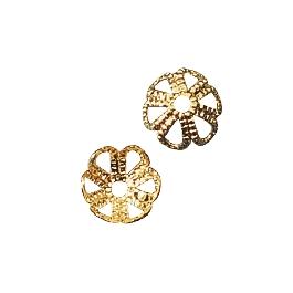 Gyöngykupak, 6 mm, arany, 25 db