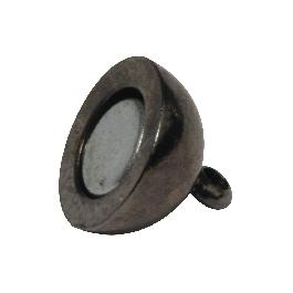 Mágneskapocs, extra erős, 10 mm, antracit, 1 db