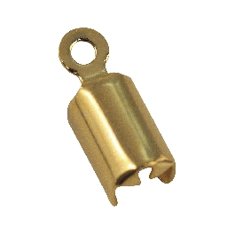 Ékszerelem ékszerzsinórhoz, arany, 2 mm, 4 db
