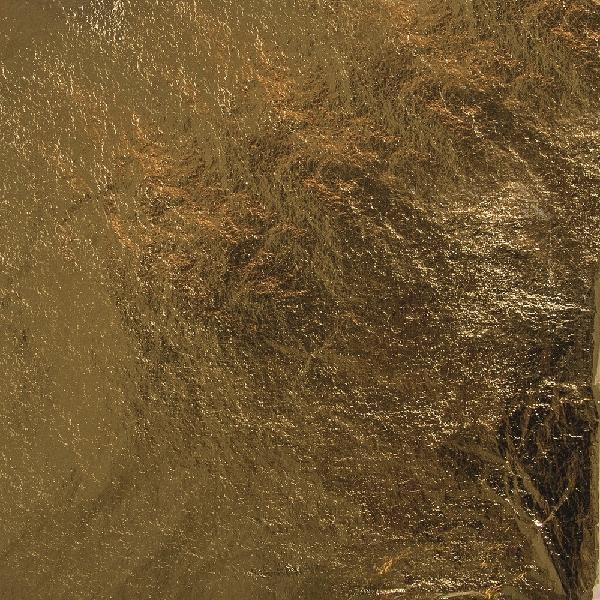 Fémfüst, 14x14 cm, arany, csom. 5 lap