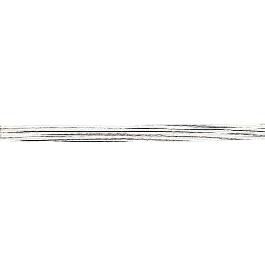 Virágkötő drót, 50 cm, átm. 0,55 mm, fehér, csom. 12 db