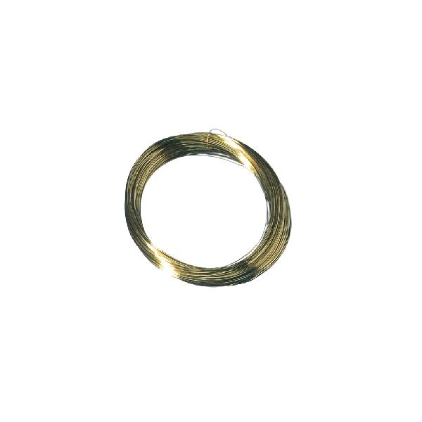 Sárgaréz drót, 0,3 mm átm.,csom. 25 m