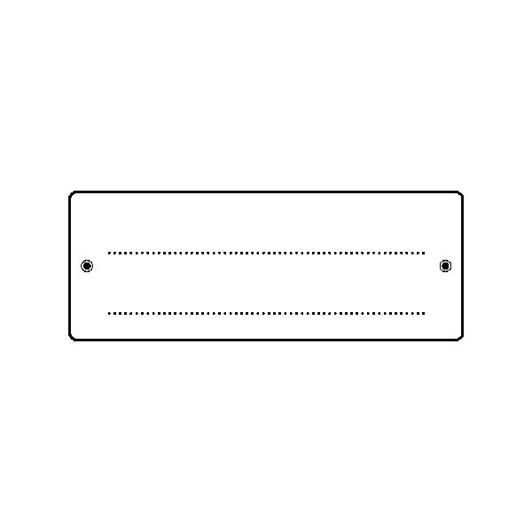 Mini-szilikonbélyegző, 4x7 cm, keret