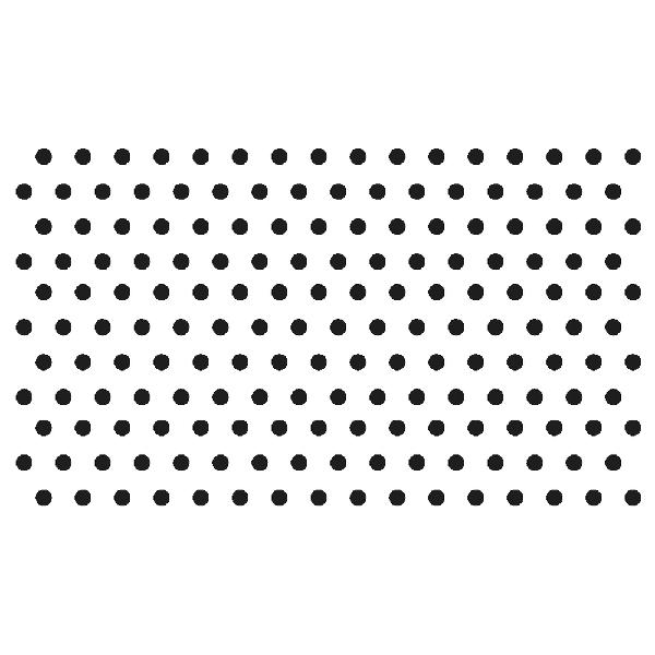Szilikonbélyegző, átlátszó, pöttyök 2, átm. 0,3 cm, 176 pötty