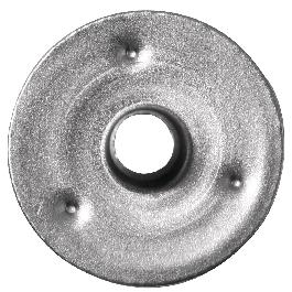 Fémlap kanóchoz, 15 mm átm.,50 db