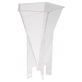 Gyertyaöntő forma kúp, átm. 76 mm, 12 cm magas, tűvel és kanóccal