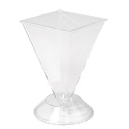 Gyertyaöntő forma piramis, 90x60 mm