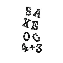Matrica betűk és számok, fekete, ív 10x24,5 cm
