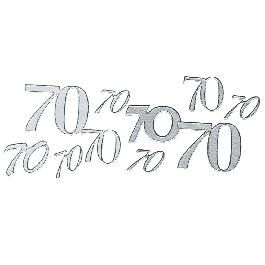 Matrica 70, ezüst, 10x24,5 cm