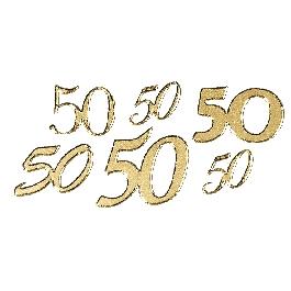 Matrica 50, arany, 10x24,5 cm