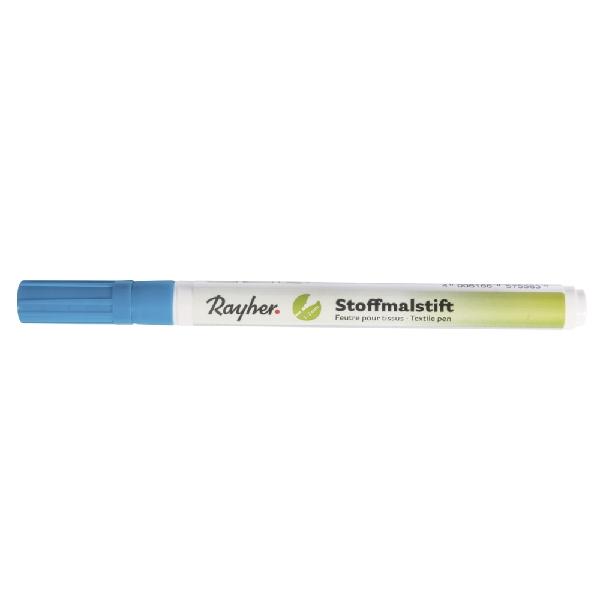 Textilfestő toll, vékony hegyű, teng.kék
