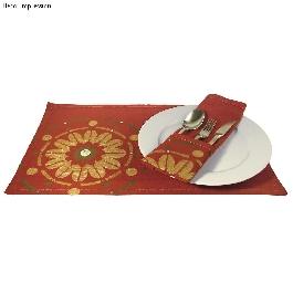 Asztali készlet, 48x35 cm, pamut