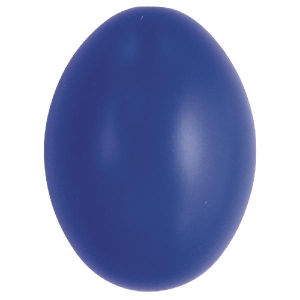Műanyag tojás, 6 cm, söt.kék