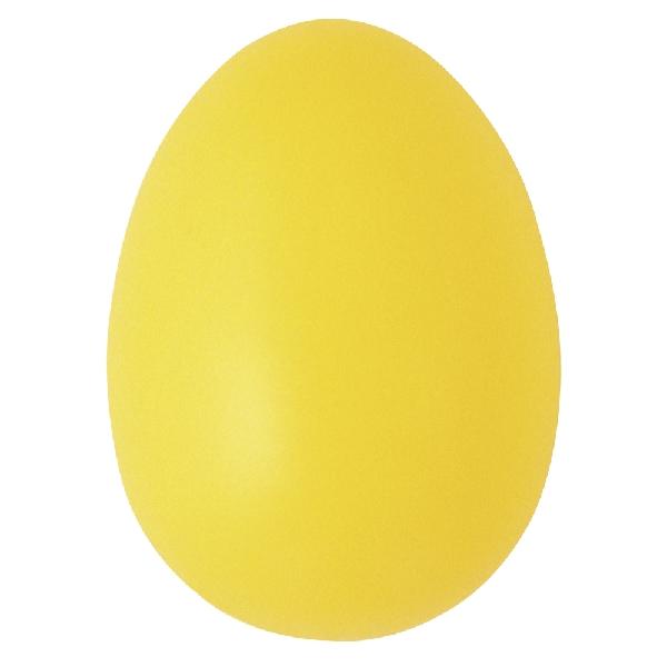 Műanyag tojás, 6 cm, vil.sárga