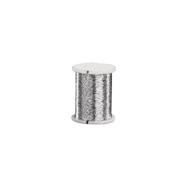 Rugalmas fűzőszál, ezüst, 0,2 mm, 50 m/tek.