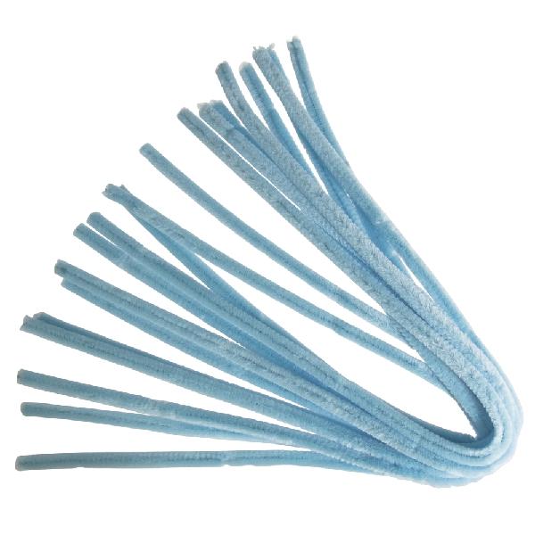 Zseníliadrót, 50 cm, vil.kék, csom. 10 db, 9 mm vastag